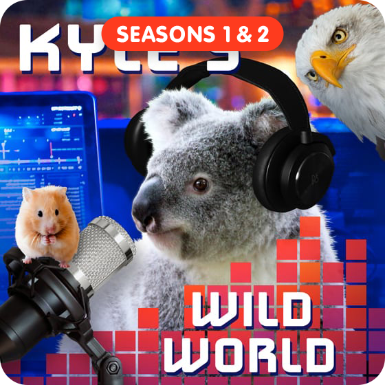 image for Kyle's Wild World - Seasons 1 & 2 (Save $3!)