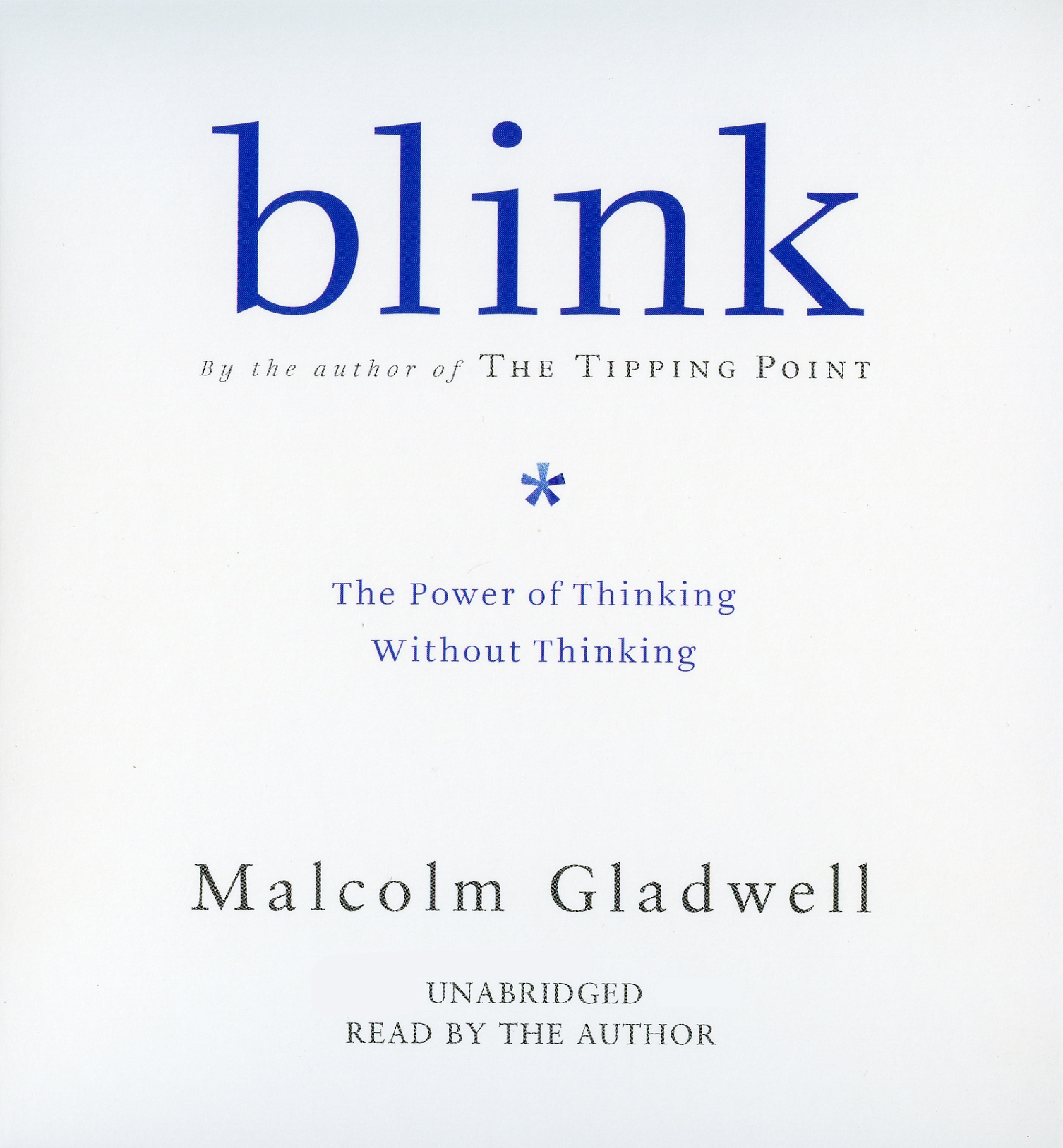 image for Blink: The Power of Thinking Without Thinking