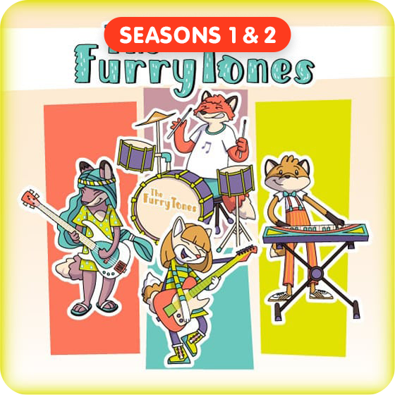 image for The FurryTones - Seasons 1 & 2 (Save $3!)